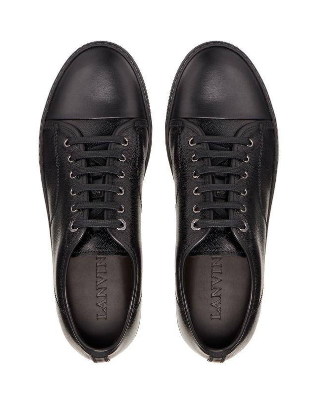 LANVIN DBB1 CAVIAR LEATHER SNEAKER Sneakers U a
