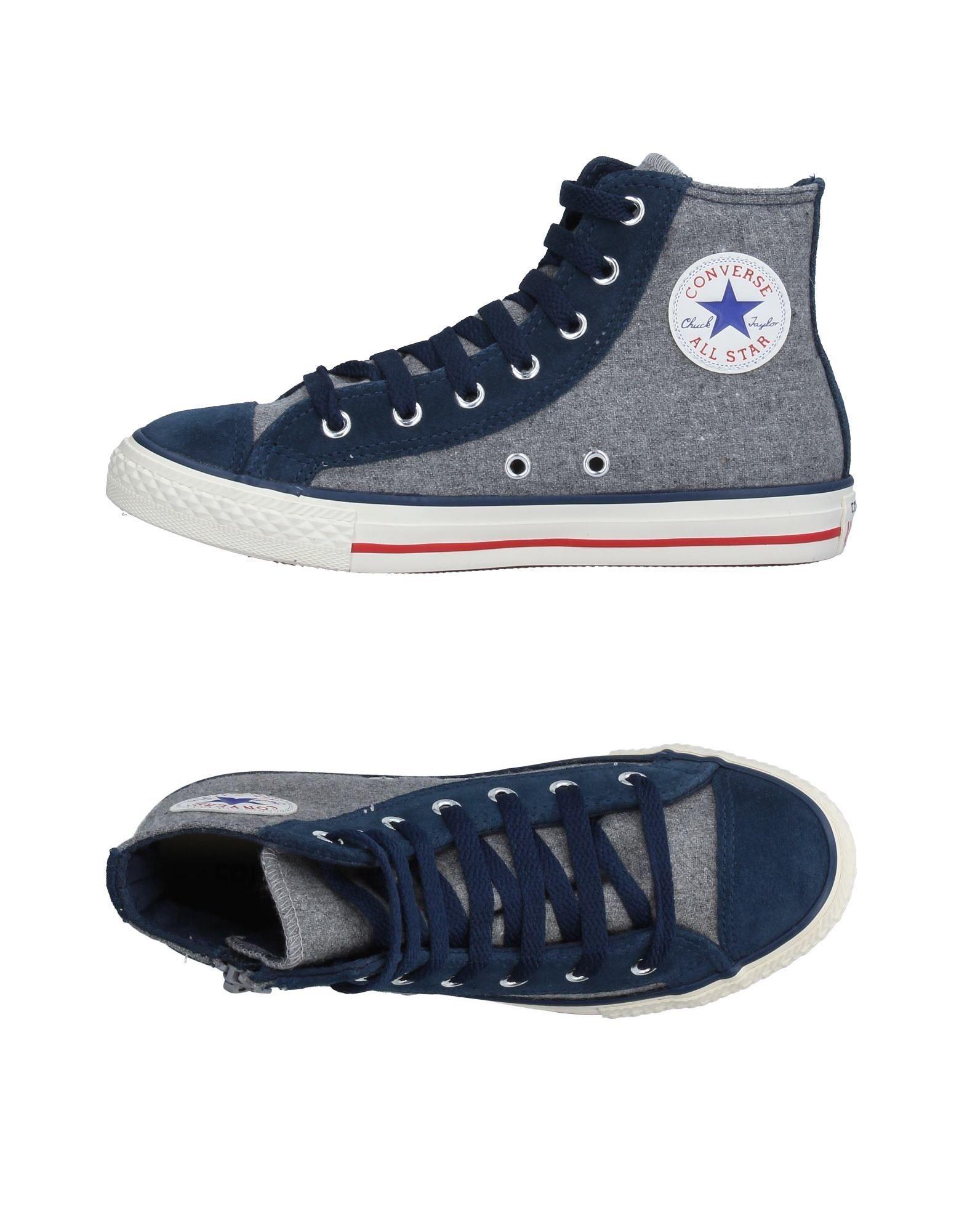 CONVERSE ALL STAR Jungen 9-16 jahre High Sneakers & Tennisschuhe Farbe Grau Größe 30