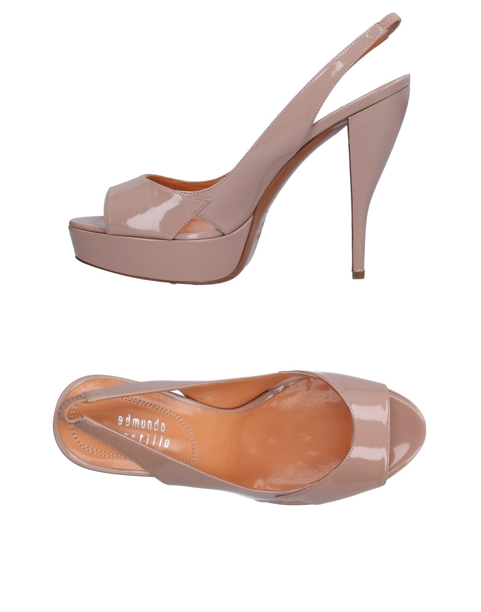 EDMUNDO CASTILLO Sandals in Pale Pink
