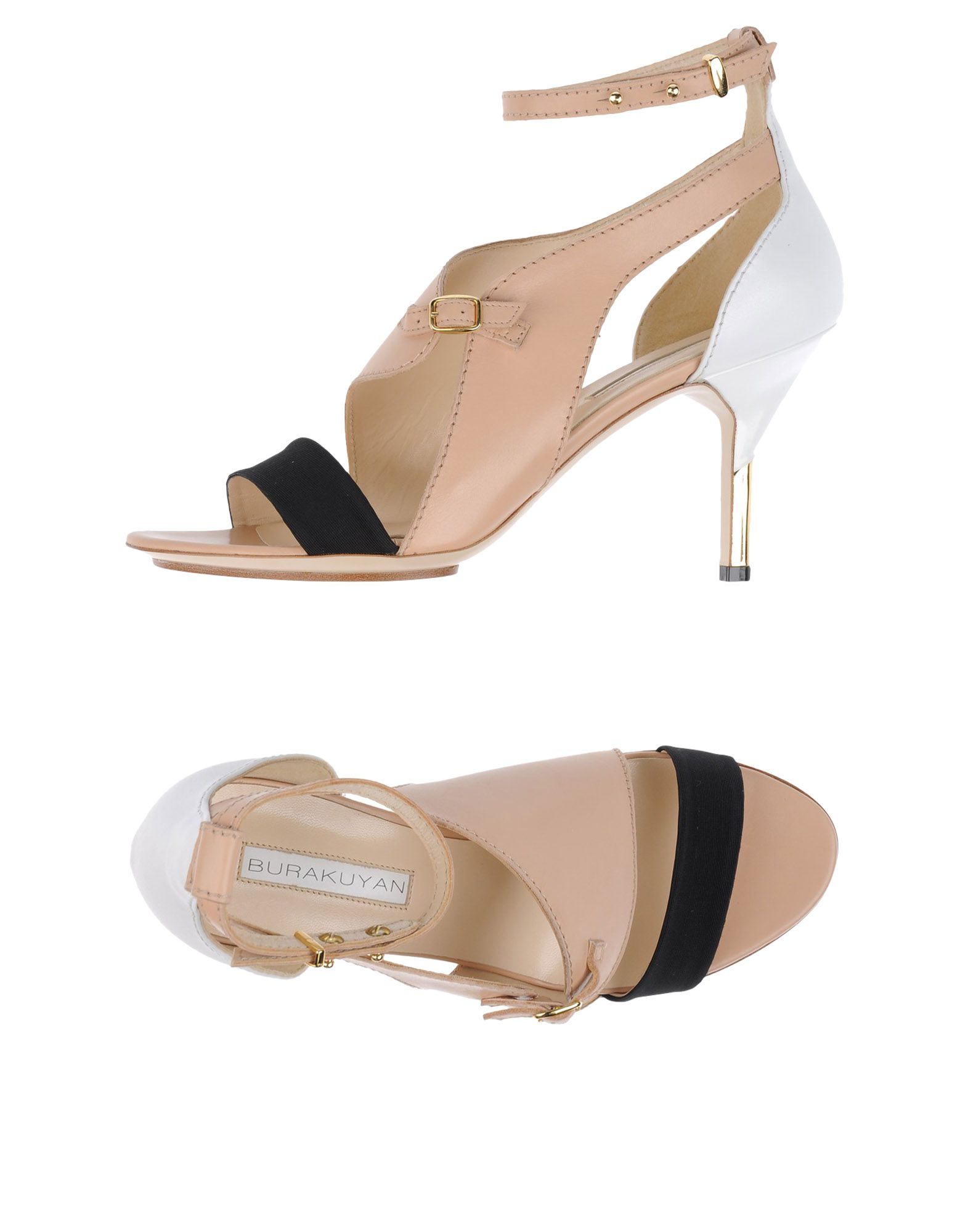 BURAK UYAN Sandals in Pale Pink