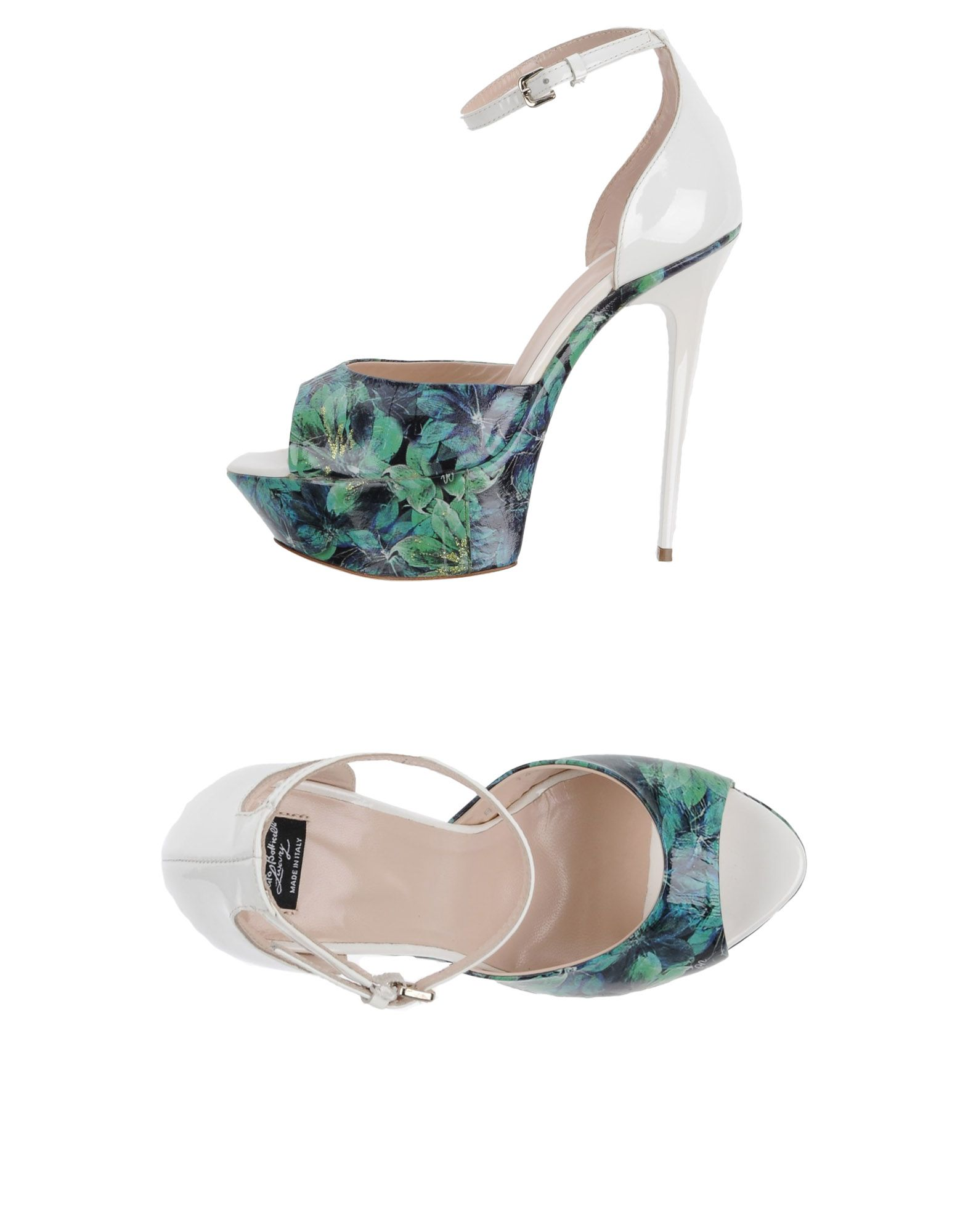 roberto botticelli luxury полусапоги и высокие ботинки ROBERTO BOTTICELLI LUXURY Сандалии
