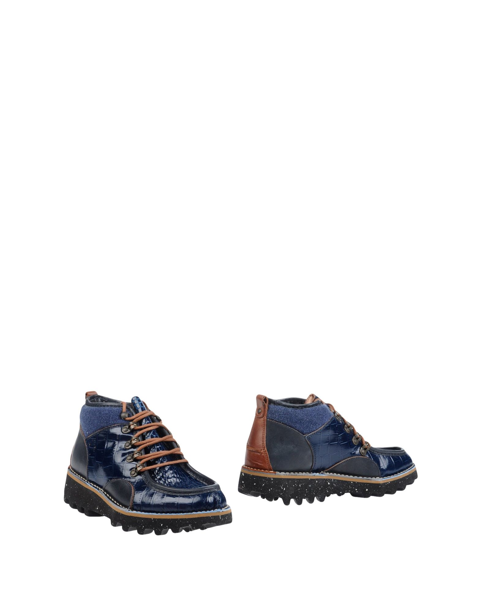 BARLEYCORN Boots in Dark Blue