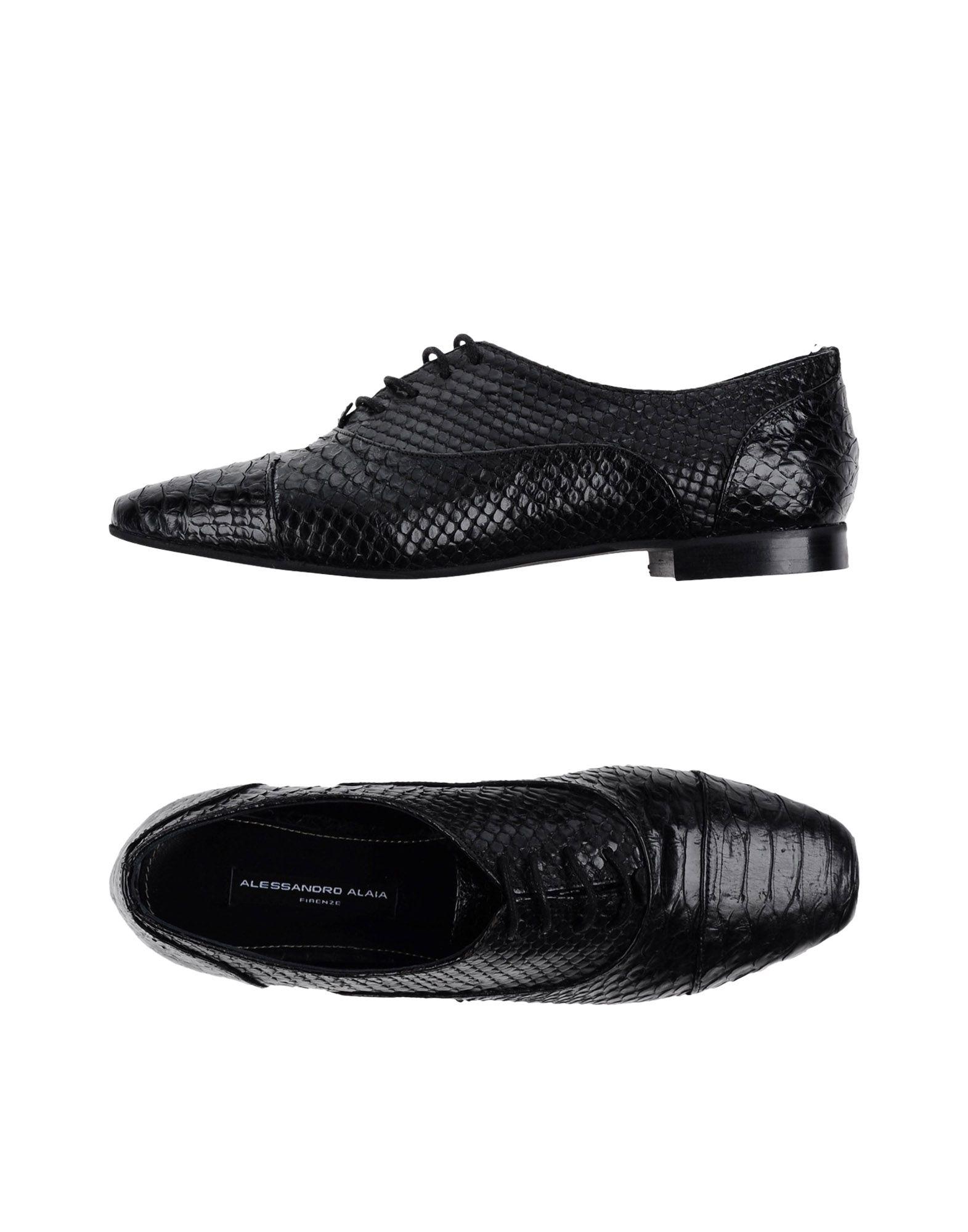 где купить ALESSANDRO ALAIA® Firenze Обувь на шнурках по лучшей цене