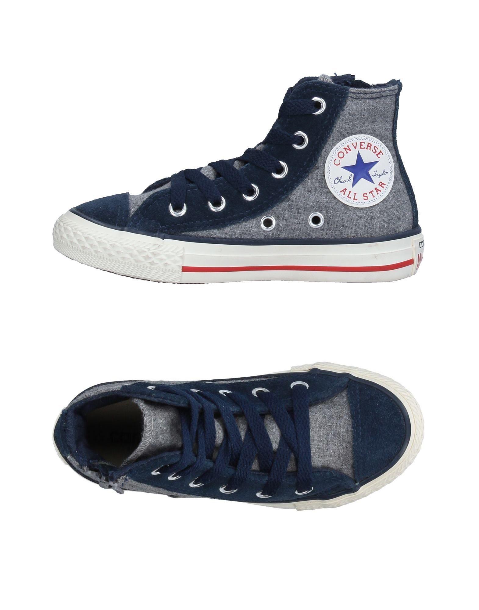 CONVERSE ALL STAR Jungen 3-8 jahre High Sneakers & Tennisschuhe Farbe Grau Größe 21
