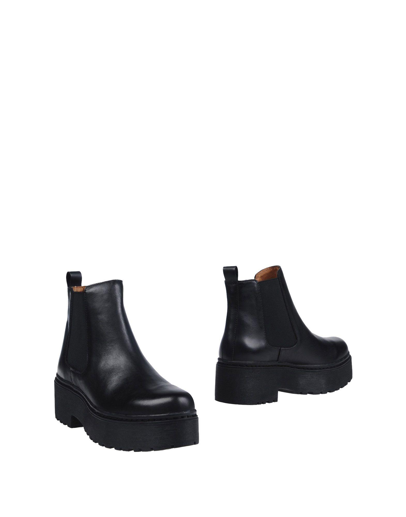 JEFFREY CAMPBELL Damen Stiefelette Farbe Schwarz Größe 11