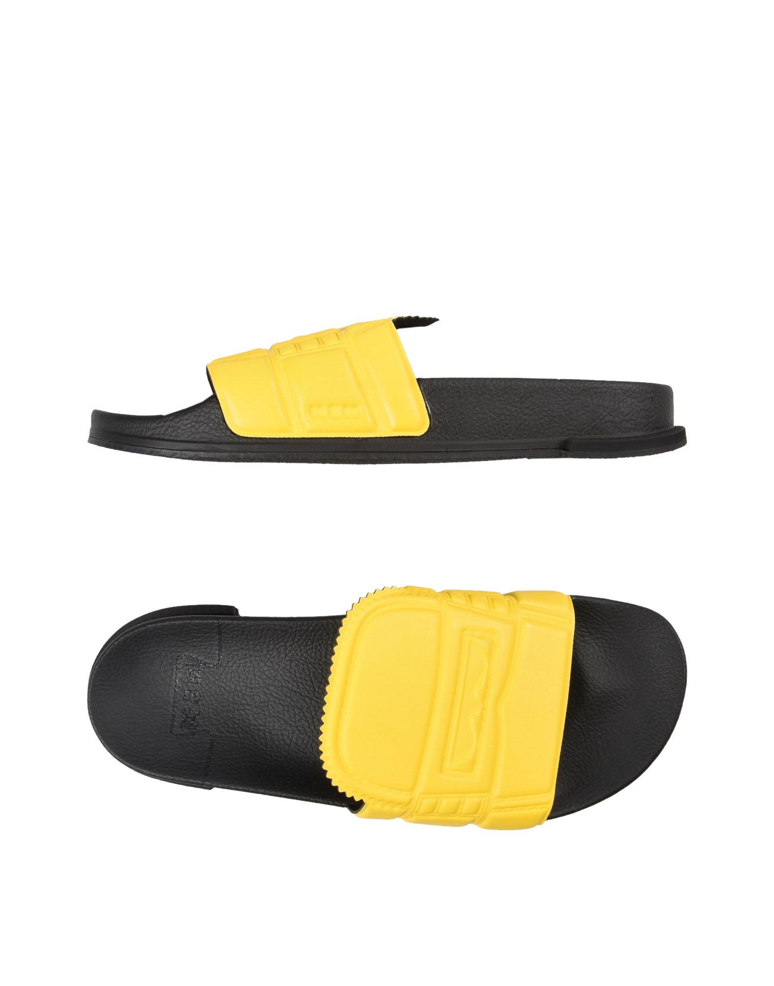 N3M NOITREMILANO Sandals in Yellow