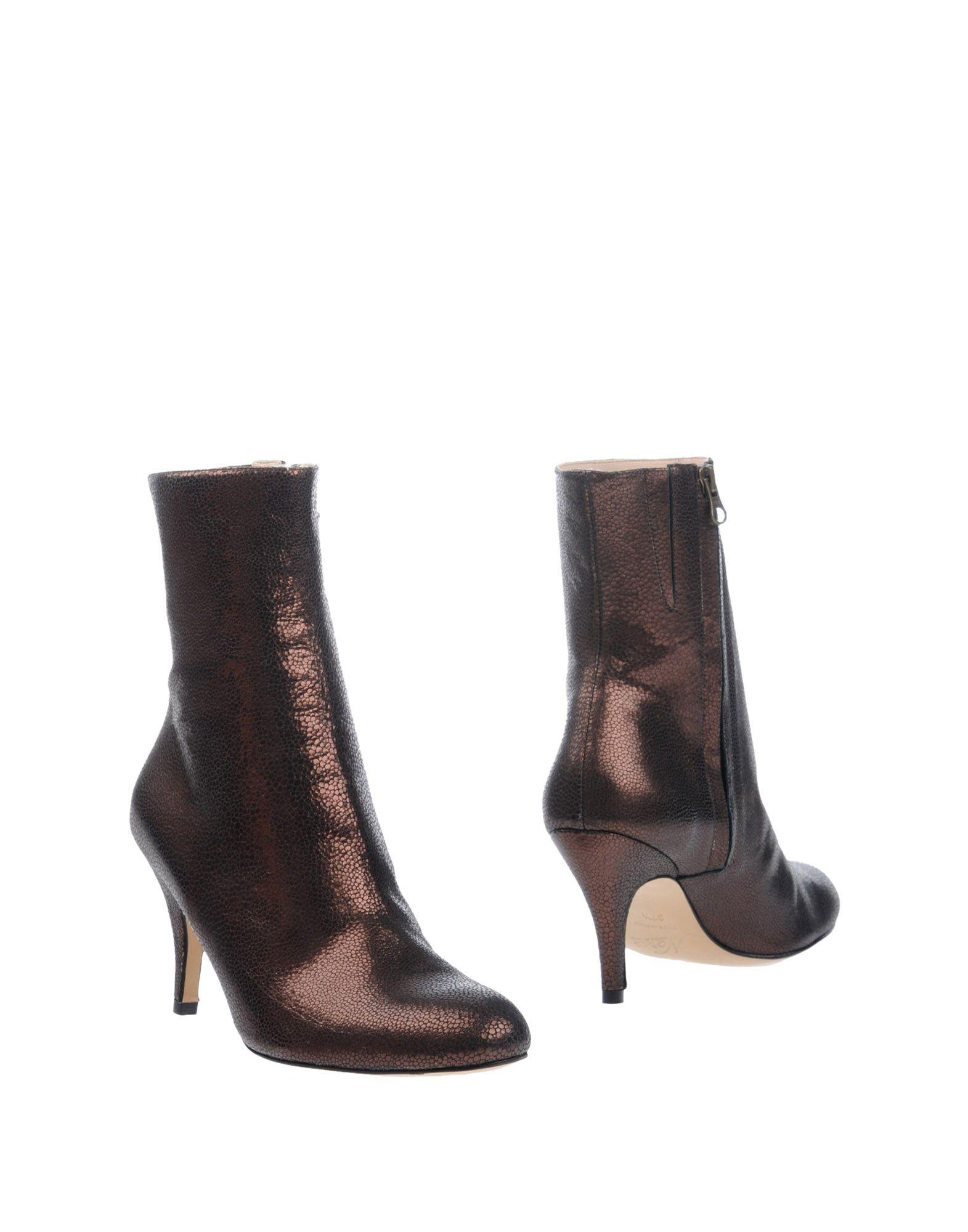 NORA Полусапоги и высокие ботинки цены онлайн