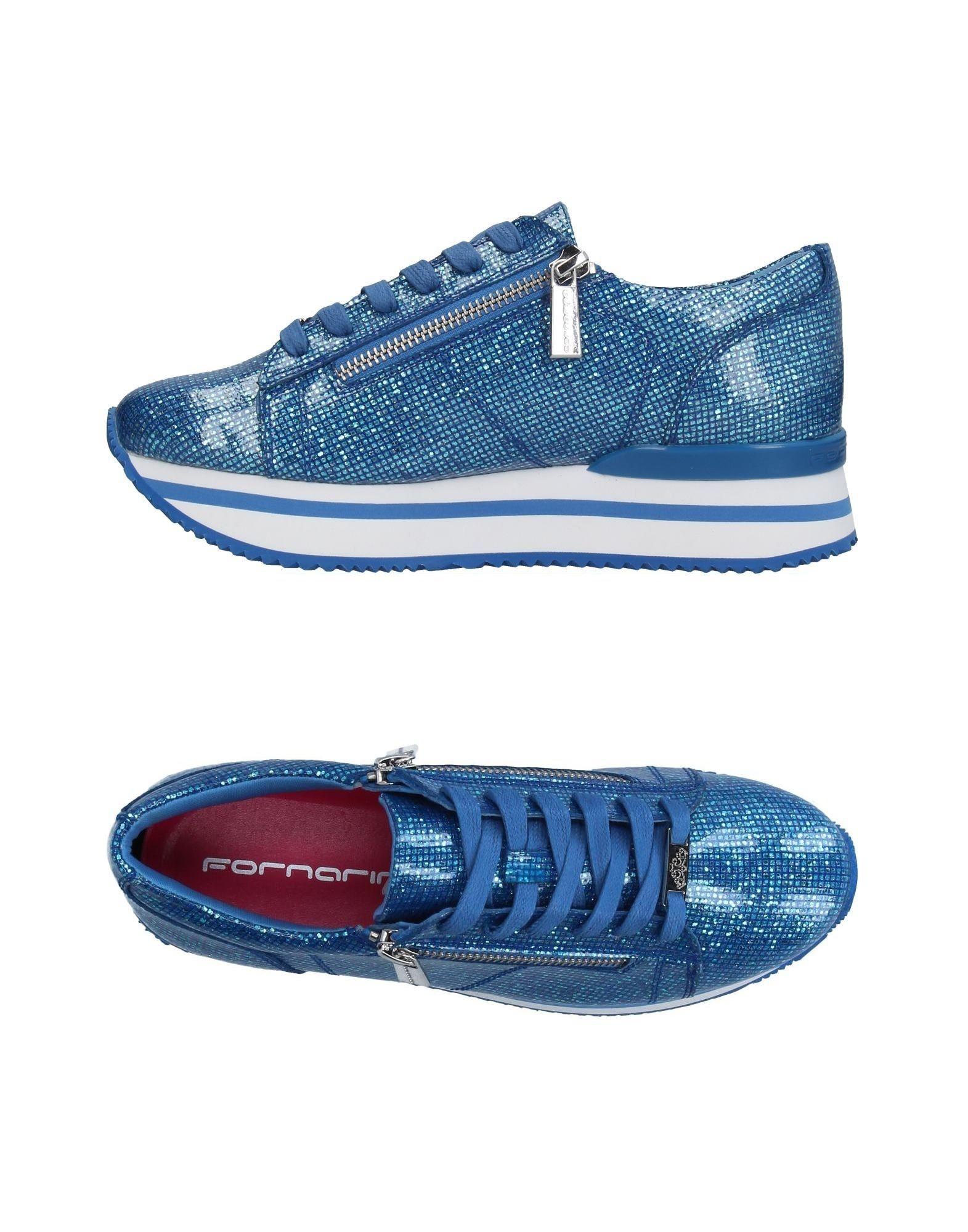 Sneakers & tennis basses fornarina femme. bleu...