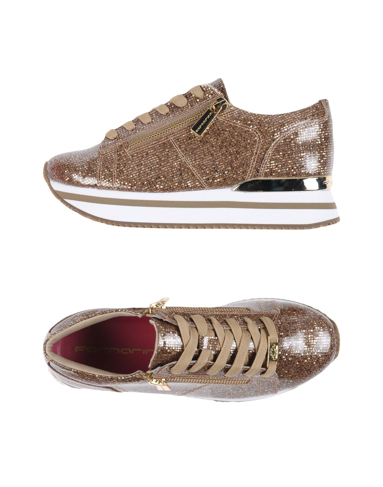Sneakers & tennis basses fornarina femme. kaki....