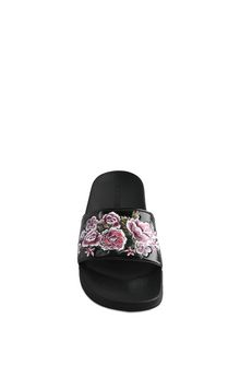 ALBERTA FERRETTI FLOWER SLIP-ON Slipper D d