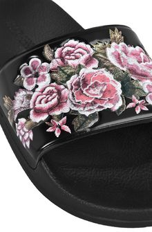 ALBERTA FERRETTI FLOWER SLIP-ON Slipper D e