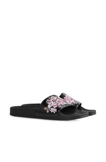 ALBERTA FERRETTI FLOWER SLIP-ON Slipper D f
