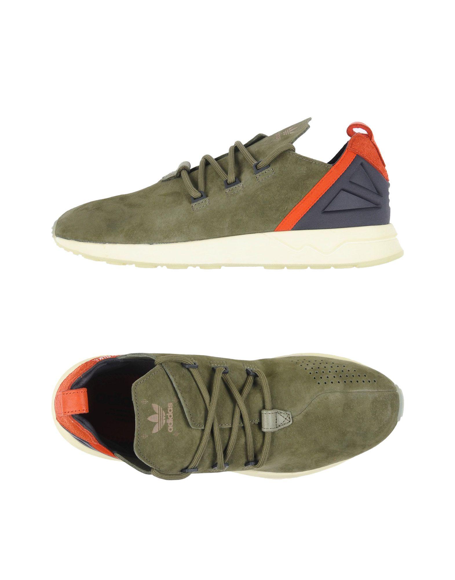 ADIDAS ORIGINALS Herren Low Sneakers & Tennisschuhe6 grün