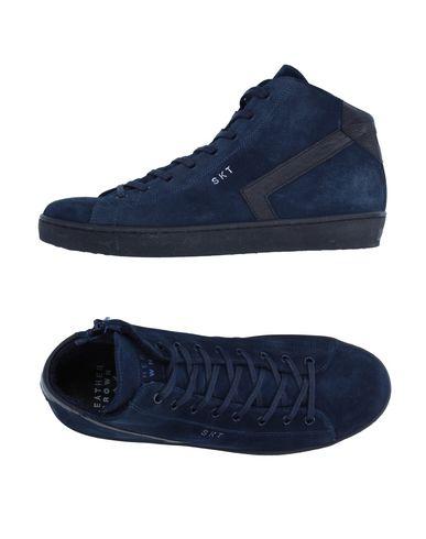Высокие кеды и кроссовки от LEATHER CROWN