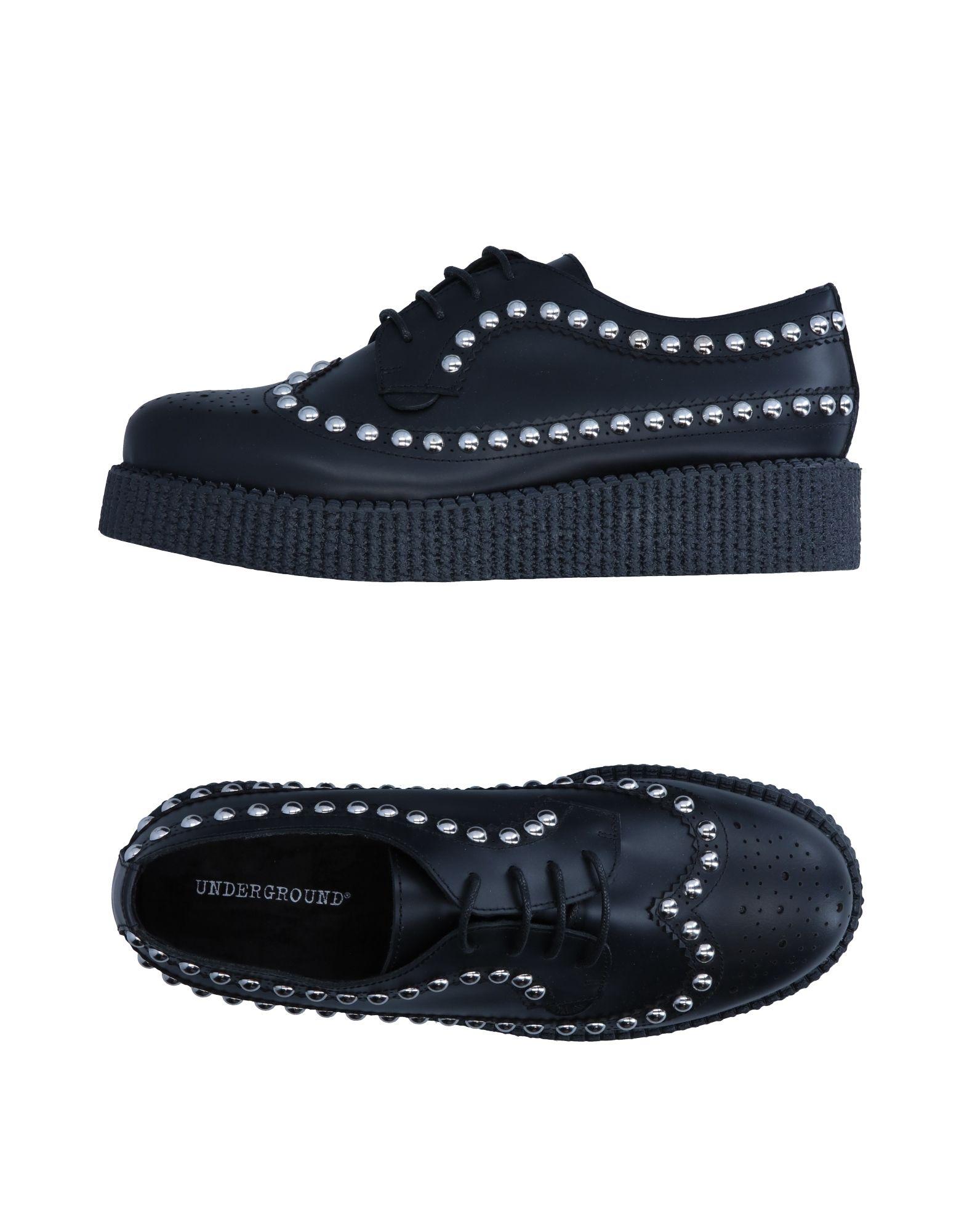 UNDERGROUND Обувь на шнурках цены онлайн
