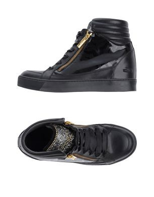 GUARDIANI SPORT Damen High Sneakers & Tennisschuhe Farbe Schwarz Größe 9