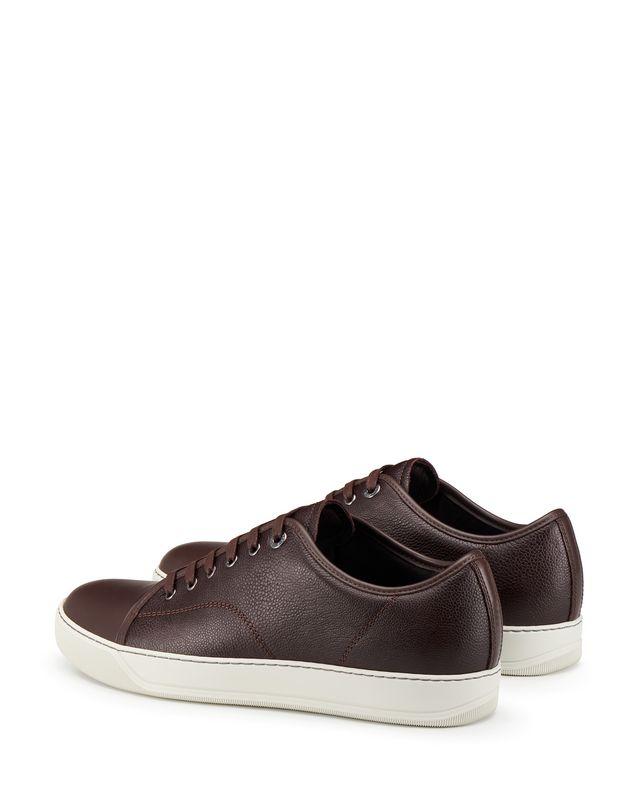 LANVIN DBB1 GRAINED CALFSKIN SNEAKER Sneakers U d