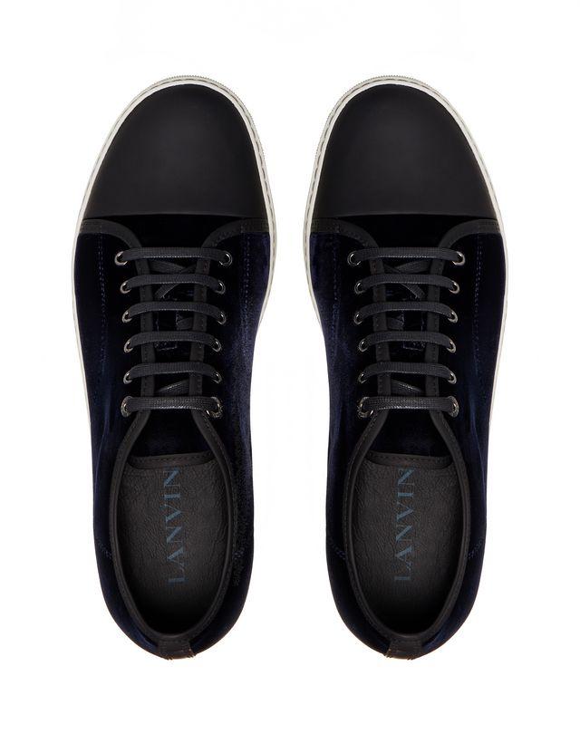 LANVIN DBB1 VELVET SNEAKER Sneakers U a
