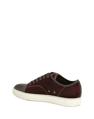 LANVIN DBB1 VELVET SNEAKER Sneakers U d