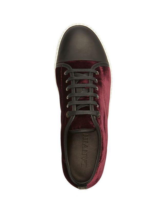 LANVIN DBB1 VELVET SNEAKER Sneakers U r