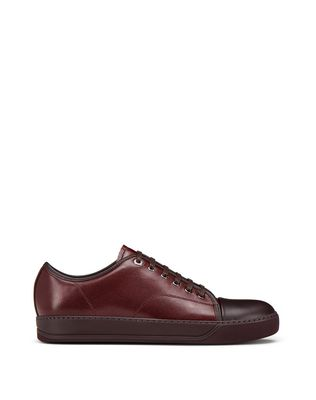 LANVIN Sneakers U DBB1 CAVIAR LEATHER SNEAKER F