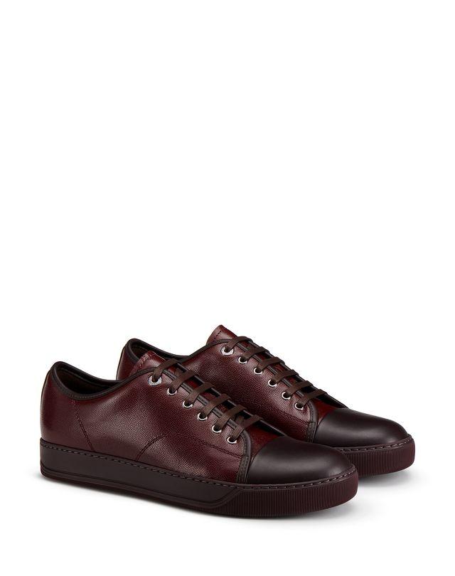 LANVIN DBB1 CAVIAR LEATHER SNEAKER Sneakers U r