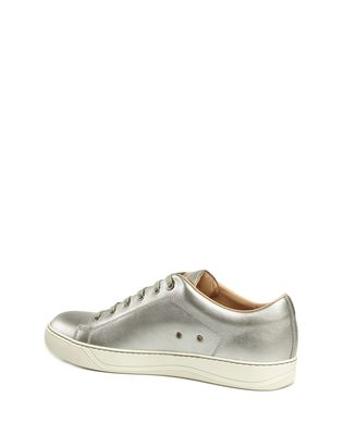 LANVIN MATTE CALFSKIN SNEAKER Sneakers U d
