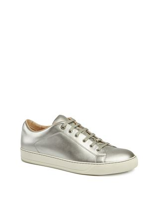 LANVIN MATT CALFSKIN SNEAKER Sneakers U f
