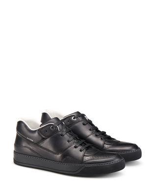 LANVIN NAPPA CALFSKIN MID-TOP SNEAKER Sneakers U r