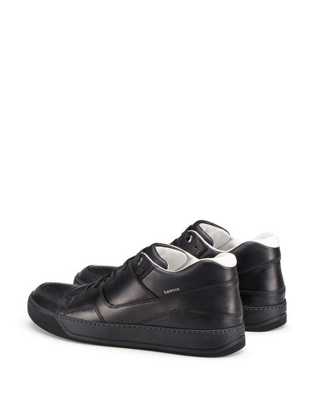 LANVIN NAPPA CALFSKIN MID-TOP SNEAKER Sneakers U d