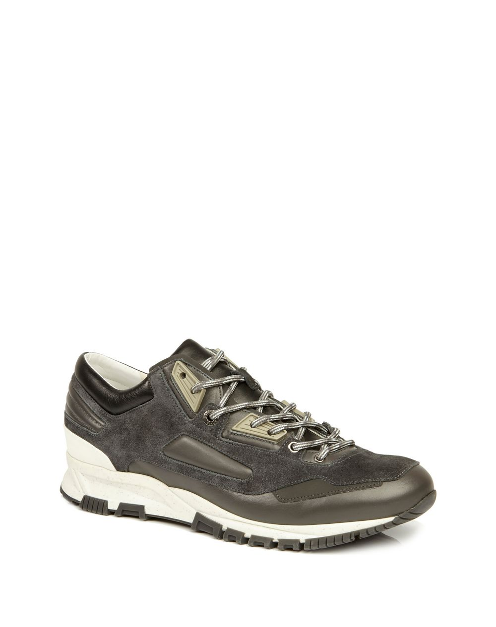 SUEDE CALFSKIN CROSS-TRAINER - Lanvin