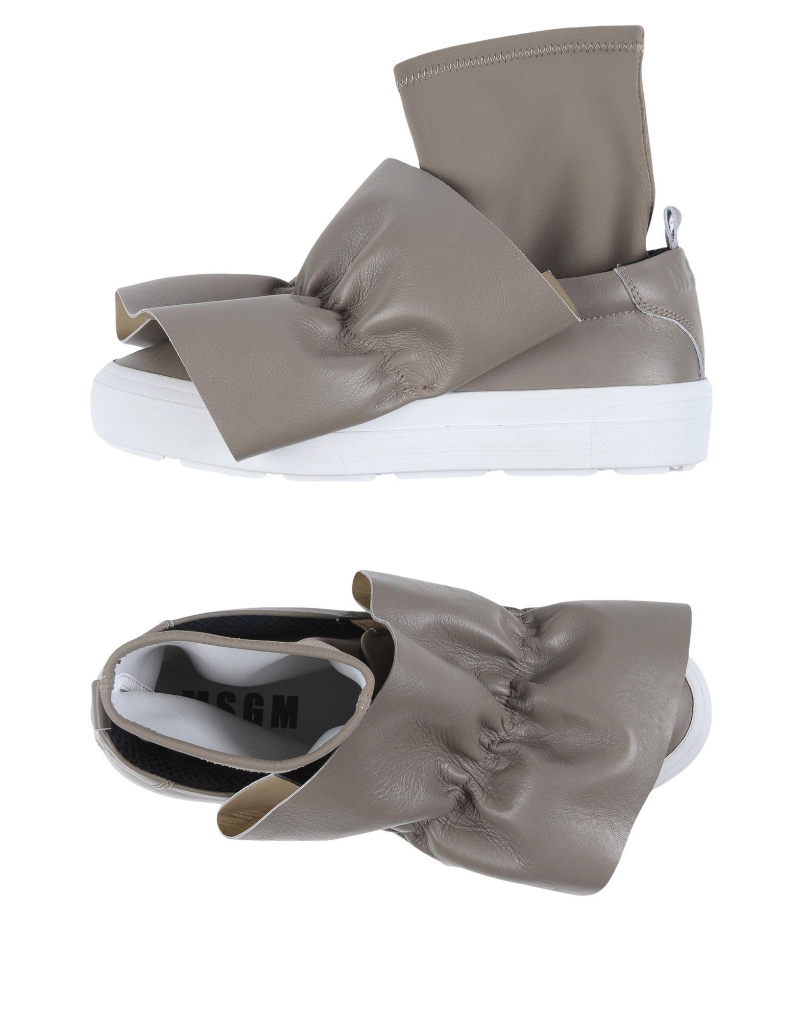 MSGM Высокие кеды и кроссовки msgm одежда