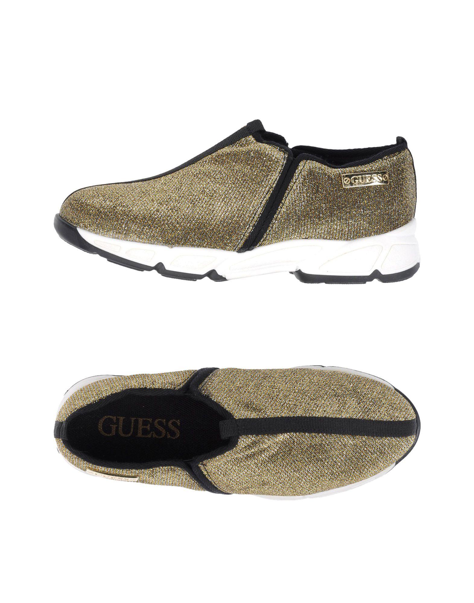 GUESS Низкие кеды и кроссовки кеды guess flbys1 lea12 blkbl