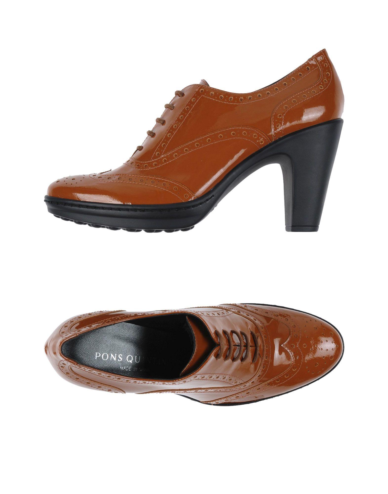 PONS QUINTANA Обувь на шнурках цены онлайн