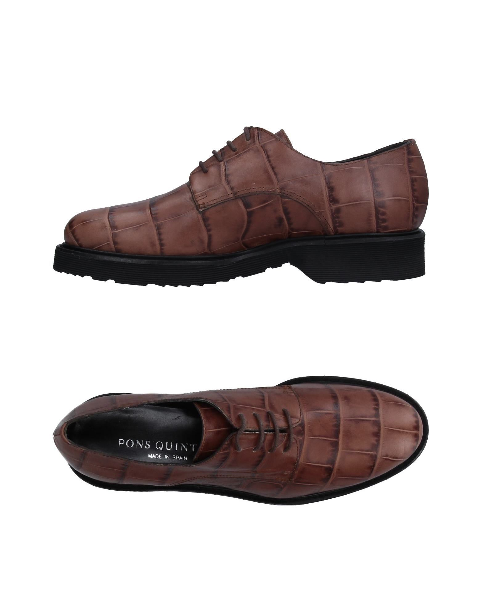 PONS QUINTANA Обувь на шнурках pons quintana обувь на шнурках