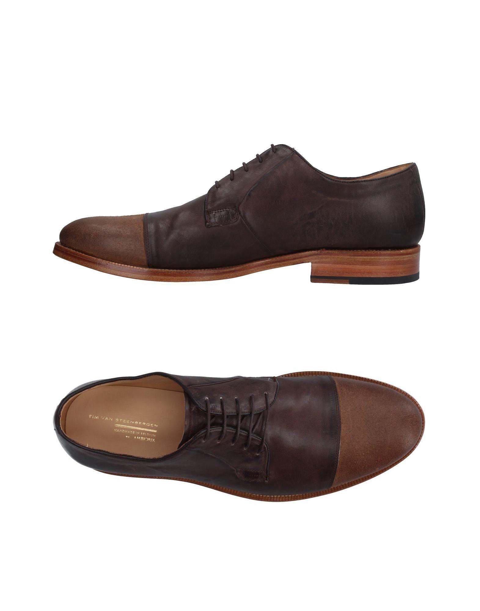 TIM VAN STEENBERGEN Обувь на шнурках цены онлайн
