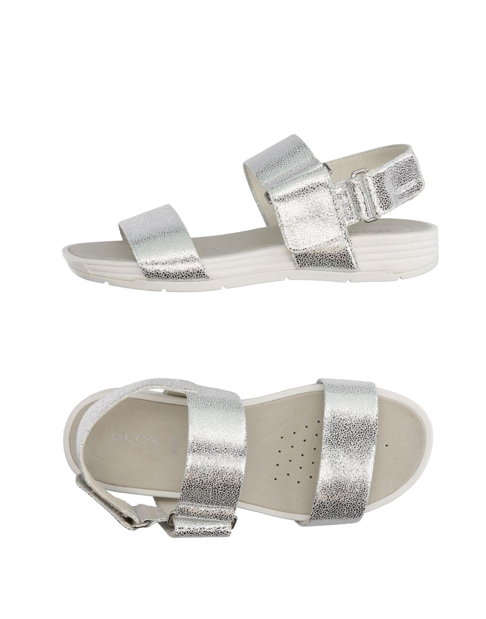 5d23d0e3372ce Geox Sandals In Silver