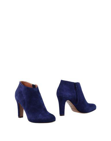 Фото - Женские ботинки и полуботинки  темно-синего цвета