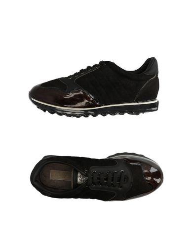 Низкие кеды и кроссовки ALBERTO FASCIANI. Цвет: черный