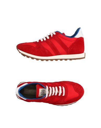 Низкие кеды и кроссовки ALBERTO FASCIANI. Цвет: красный