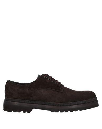 Купить Обувь на шнурках от LO.WHITE темно-коричневого цвета
