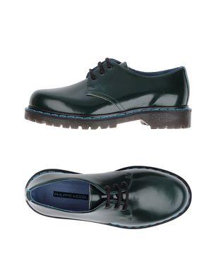 PHILIPPE MODEL Damen Schnürschuh Farbe Dunkelgrün Größe 5