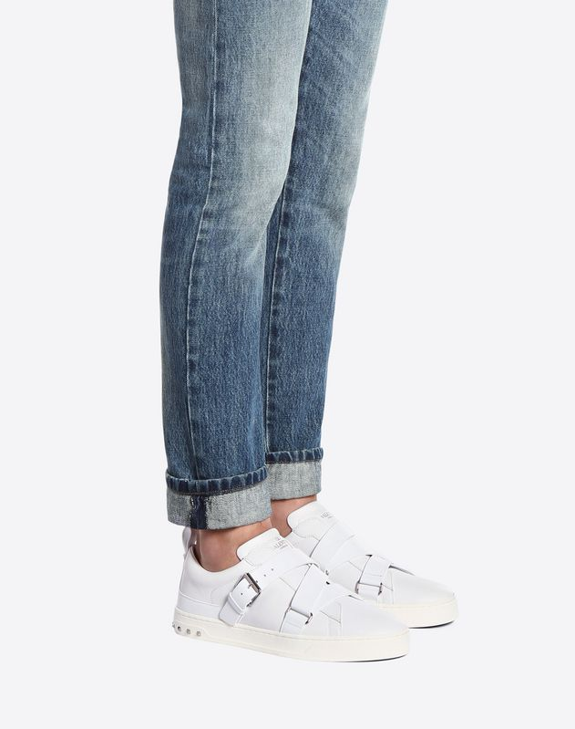 V-punk轻软搭扣运动鞋 黑色