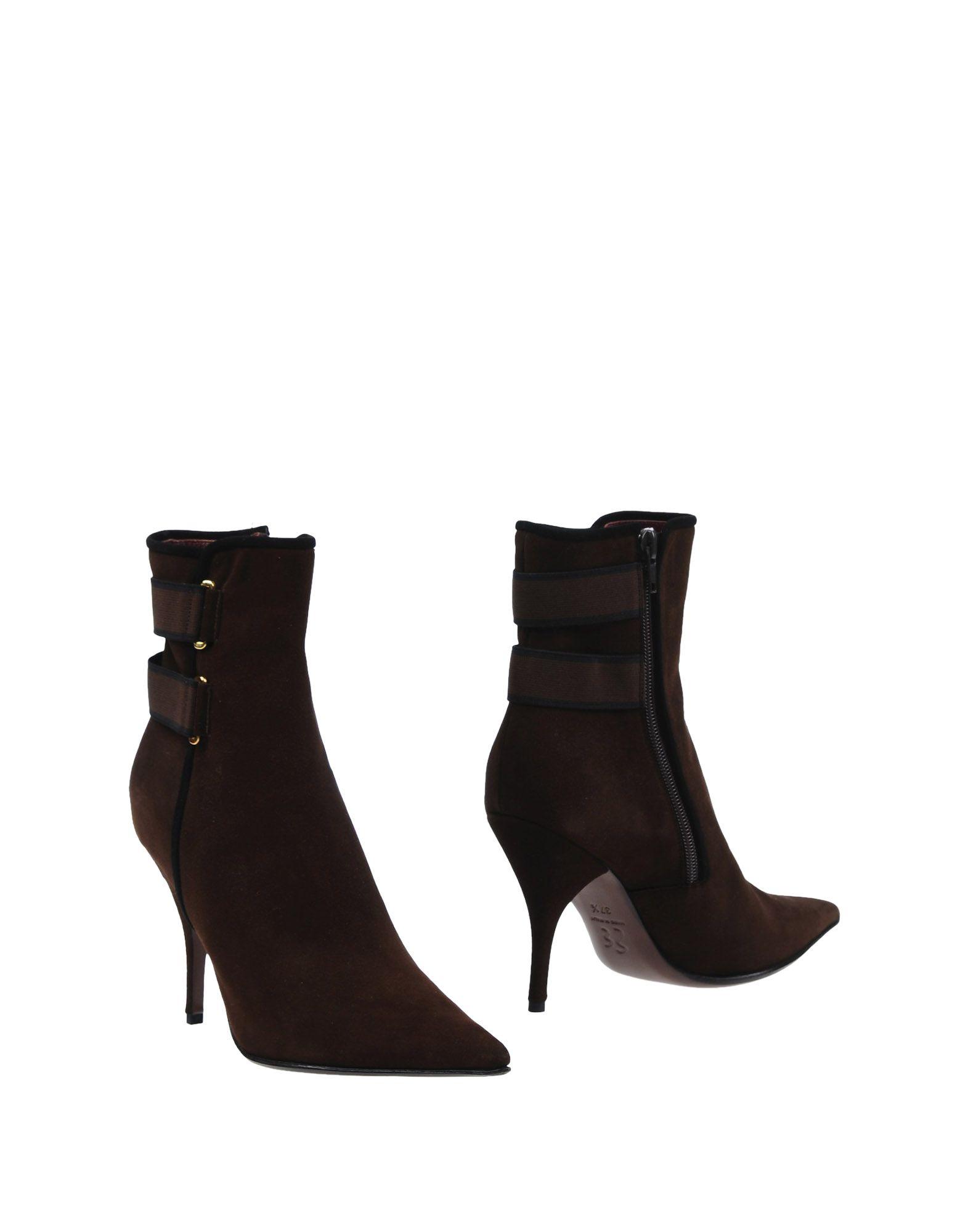 ERNESTO ESPOSITO Ankle Boot in Dark Brown