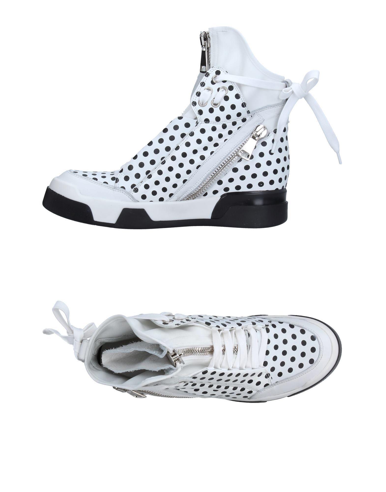 ELENA IACHI Высокие кеды и кроссовки elena iachi высокие кеды и кроссовки