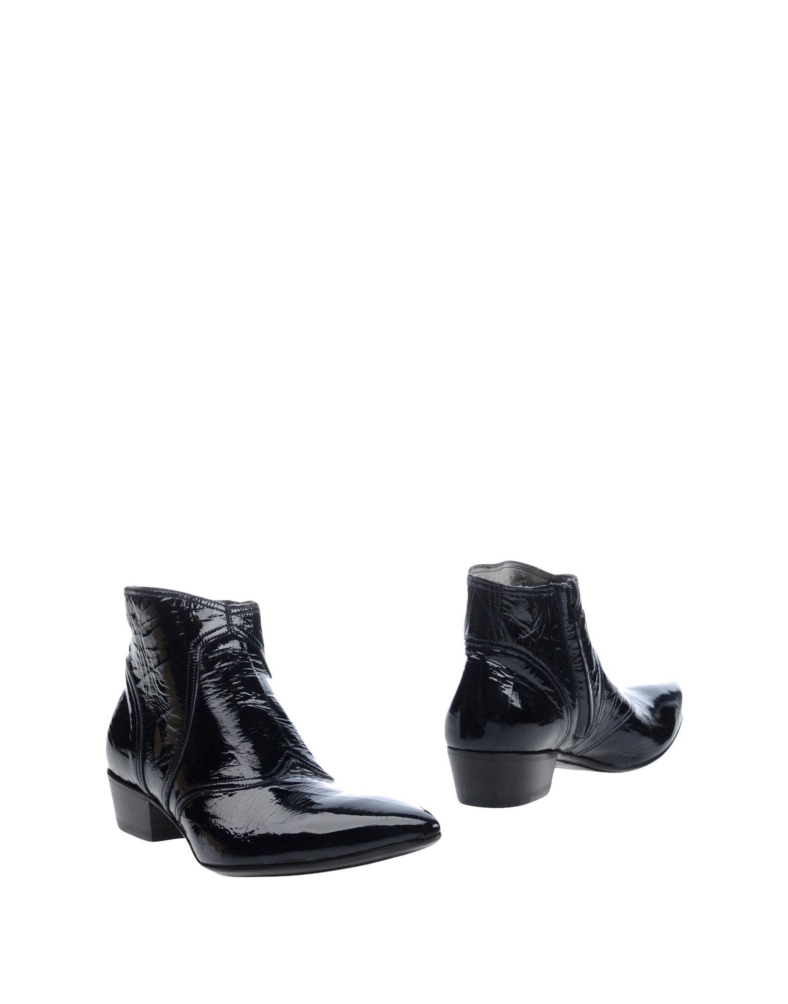 GIANNI BARBATO Полусапоги и высокие ботинки gianni barbato кожаные сапоги
