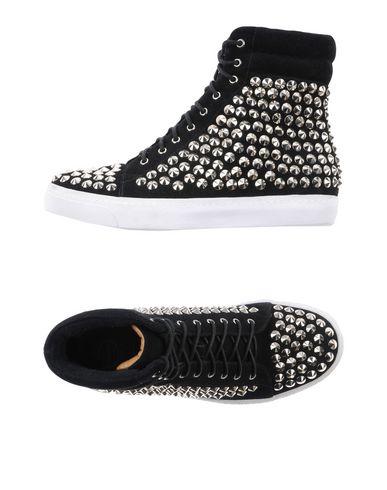 Фото - Высокие кеды и кроссовки от JEFFREY CAMPBELL черного цвета