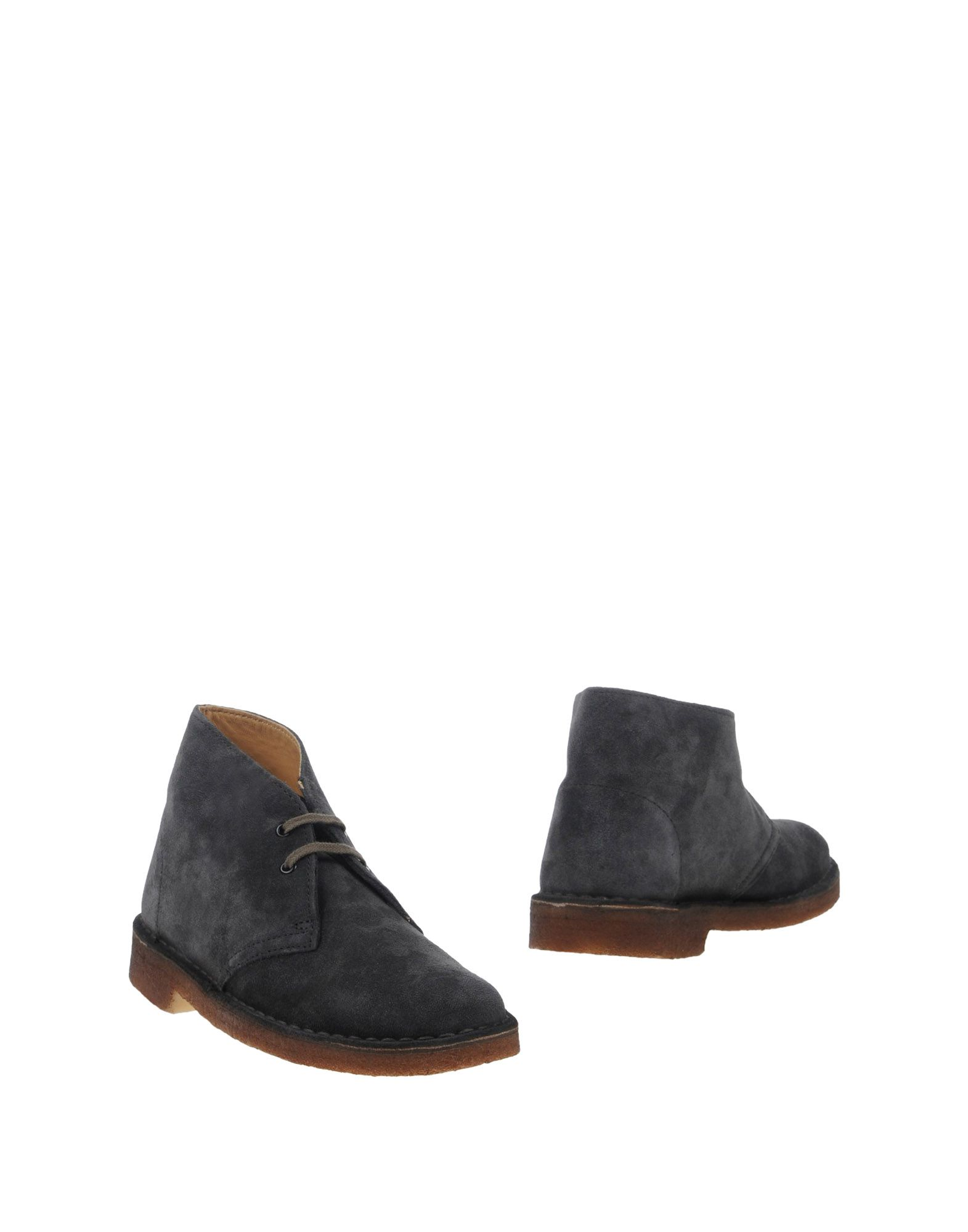 CLARKS ORIGINALS Ankle Boot in Lead