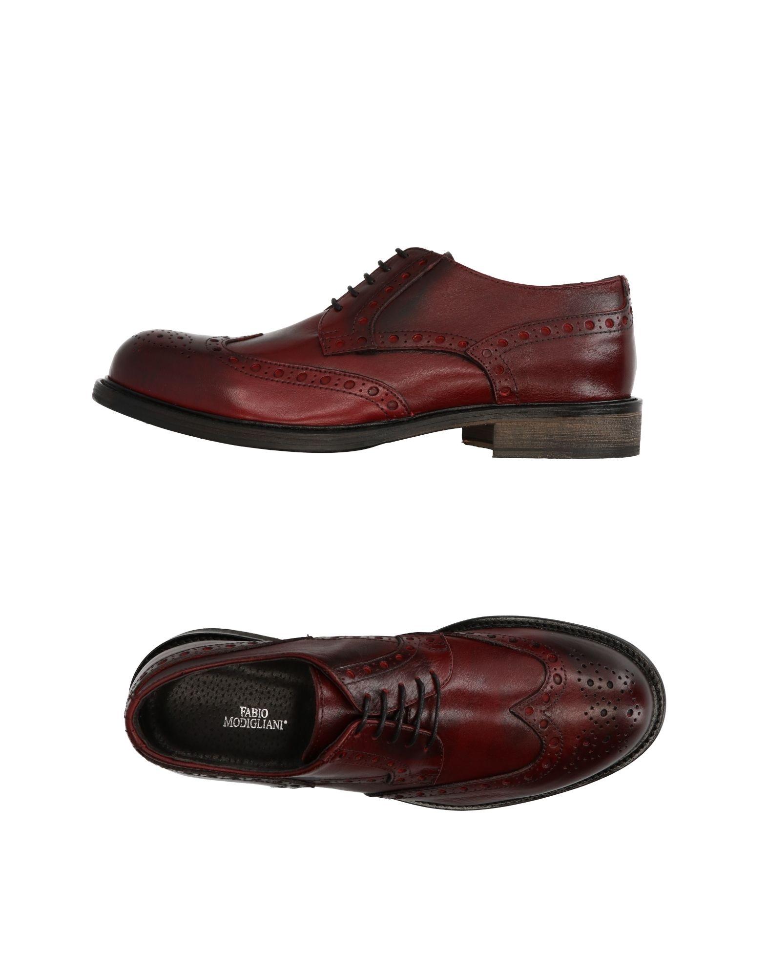 FABIO MODIGLIANI Обувь на шнурках цены онлайн