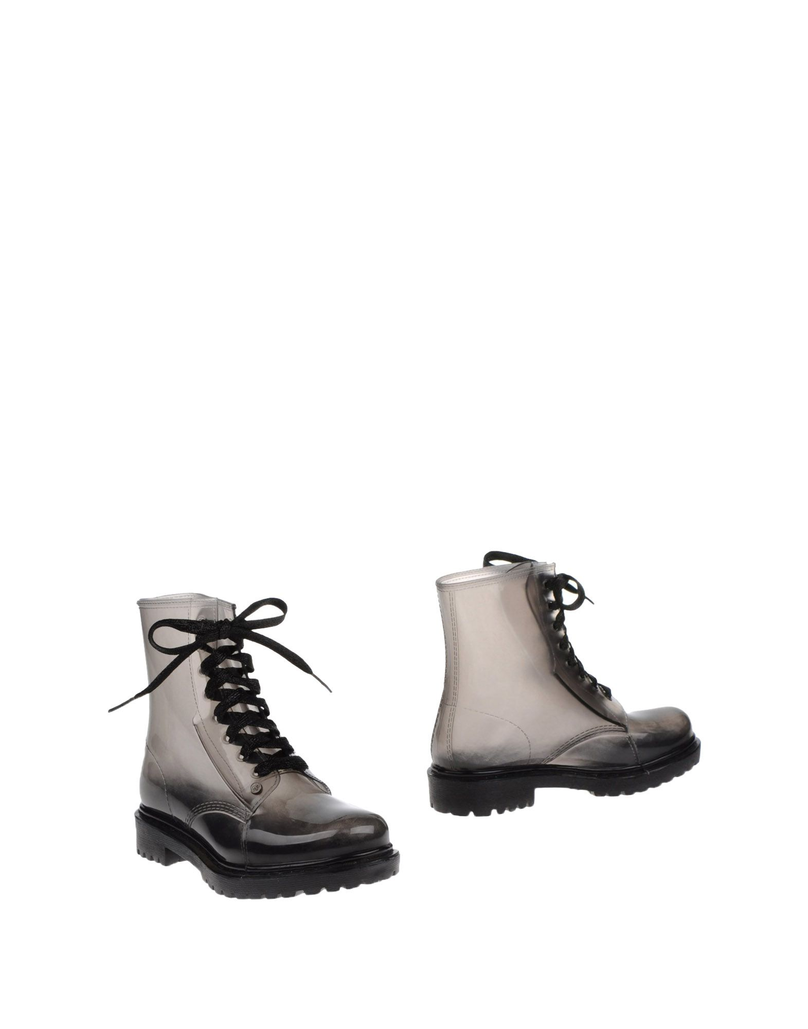 G SIX WORKSHOP Ankle Boots in Lead